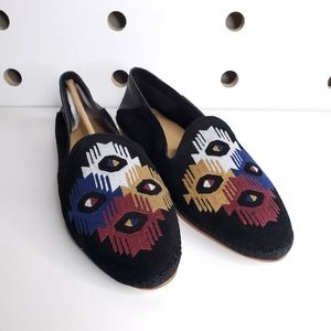 New Soludos Embroidered Venetian Loafer